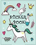 Best Sticker Books - Sticker Book: ltimate Blank Sticker Book for Kids Review