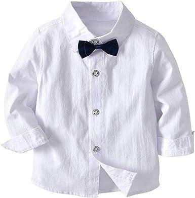 YanHoo 4PC niño bebé Bowtie Gentleman Chaleco Camiseta Pantalones ...