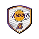 Officially Licensed NBA Shield Reflector Sticker - Los Angeles Lakers