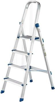 Escalera de Mano Taburete Plegable Escalera Plegable for el hogar Taburete Escalera for el hogar Estable Taburete Plegable de Aluminio Escalera Plegable Decorativa Escalera de Mano (Color : A): Amazon.es: Electrónica
