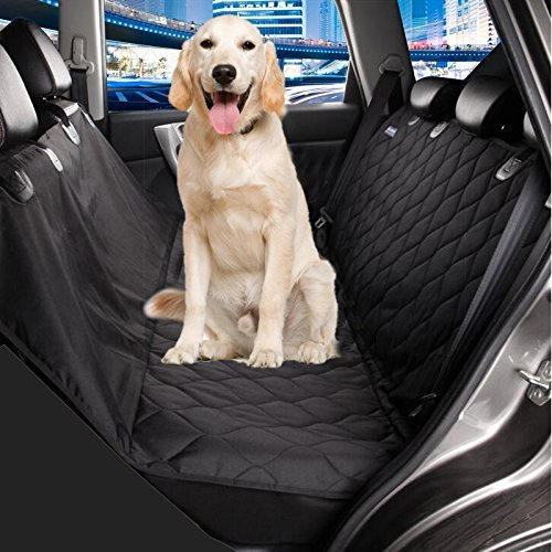 Bailuoni Quilted Dog Seat Cover for Cars, SUV Pet Car Seat Covers, Dog Hammock, Slip-proof, Oxford Waterproof Hammock of Pets by Bailuoni