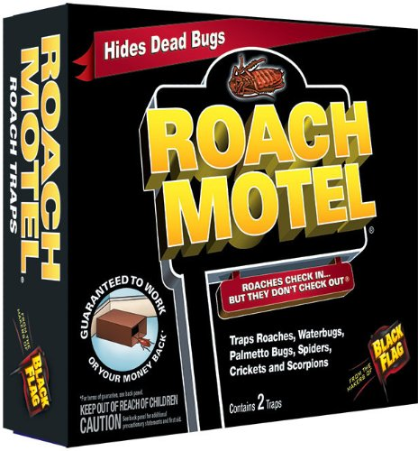 System 2 Flag (Black Flag Roach Motel Insect Trap (Contains 2), 12-PK)