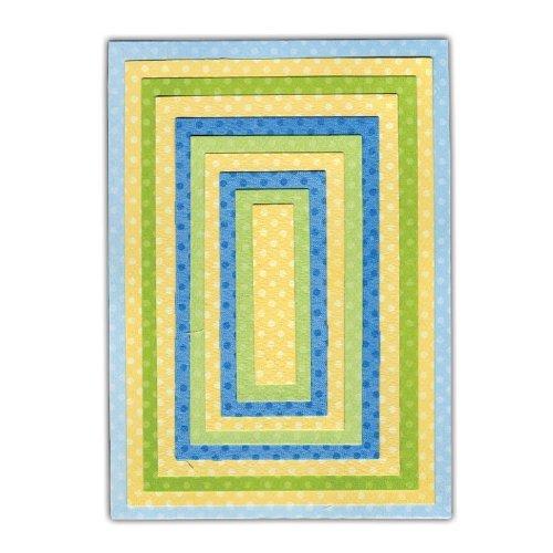 Sizzix Framelits Die Set 10PK - Rectangles #2