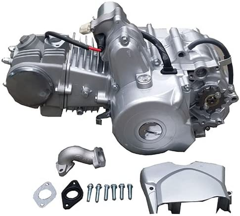 Amazon Com X Pro 125cc Atv Engine Motor 4 Stroke W Automatic Transmission Electric Start Fit 50cc 70cc 90cc 110cc 125cc Quad 4 Wheelers Atvs Dune Buggy Sandrail Roketa Taotao Jonway Coolster Automotive