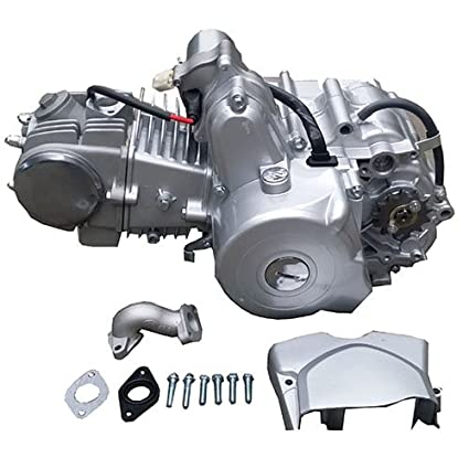 Amazon.com: 125cc ATV Go Kart Engine Motor 4-stroke w/Automatic ...