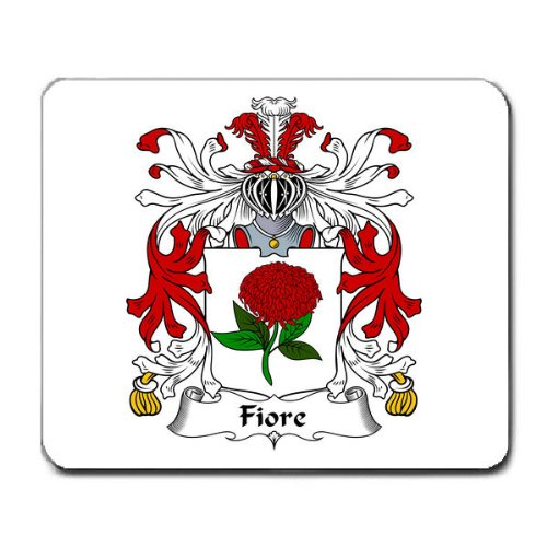 Fiore Family Crest Coat of Arms Mouse Pad
