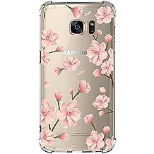 Galaxy S7 Shockproof TPU Bumper Case,Pretty Pattern Design with Bumper Soft TPU Cover Case for Samsung Galaxy S7
