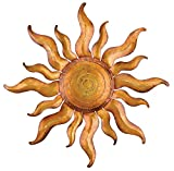 Regal Art and Gift Gold Sun Wall Decor, 21-Inch