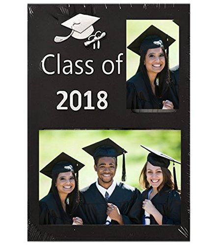Unbran Class of 2018 Graduation Lightweight Double Photo Fra