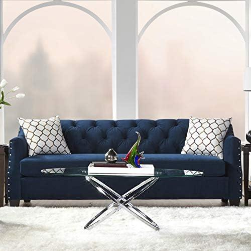 Deal of the week: Roundhill Furniture Moselle Transitional Modern Velvet Tufted Sofas