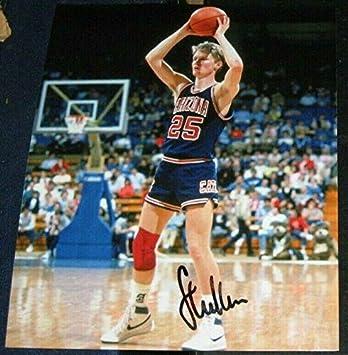 549f045f775 Steve Kerr Signed Photograph - Arizona Wildcats 8x10 COA Warrior -  Autographed NBA Photos