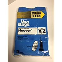 Hoover Type Y WindTunnel Upright Vacuum Bags, Made in USA. 12 Packages of 3 Bags (36 Total Bags)