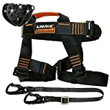 Fusion Climb Tactical Edition Adults Commercial Zip Line Kit Harness/Lanyard/Trolley Bundle FTK-A-HLT-06