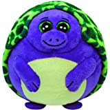 Ty Beanie Ballz Tiki Purple Turtle Regular Plush