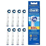 Oral-B Precision Clean Replacement Brush Heads, 8-pack