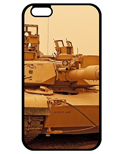 Hard Plastic Case Cover Compatible For iPhone 7 Plus/ Hot Case/ Brown M1A2 Abrams Tank (M1a2 Abrams Tank)