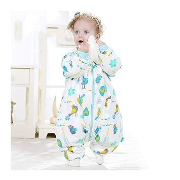 Wolaoma Saco de Dormir para bebés de algodón, Saco de Dormir para bebés, súper