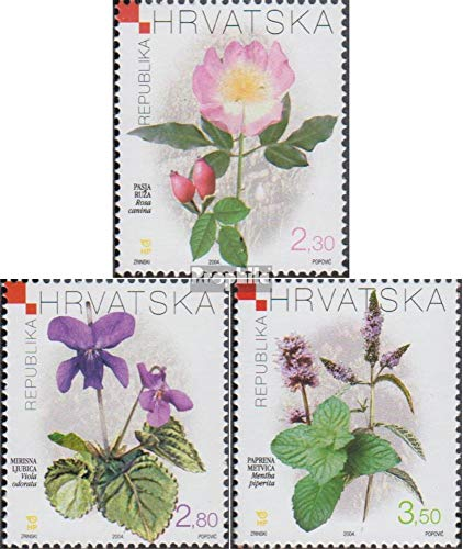 Croatia 687-689 (Complete Issue) 2004 Medicinal Plants (Stamps for Collectors) Plants