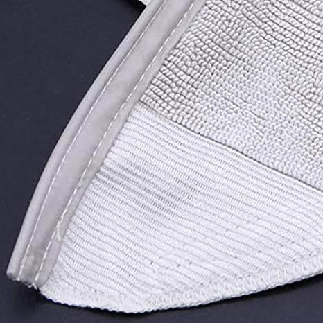 Amazon.com: Nrpfell Mop Cloth for Xiaomi Roborock S50 S51 Robot Vacuum Cleaner Parts Kits Mop Cloths Dry Wet Mopping Cleaning: Home & Kitchen