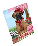 Doggie of the Day Rosie 25 Cent Kisses Bullmastiff Dog Blanket BLNKT127254 (50x60 Sherpa)