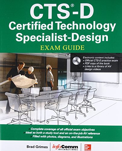 CTS-D Certified Technology Specialist-Design Exam Guide by McGraw-Hill Education