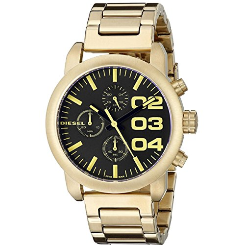 Diesel Women's DZ5467 Analog Display Analog Quartz Gold Watch