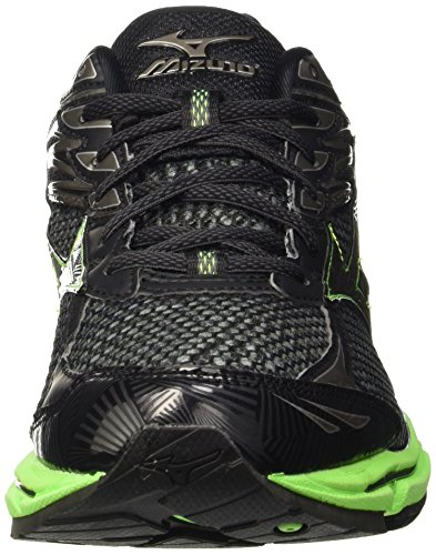 Mizuno Enigma Metallicshadow Black Nero Men's Competition Greengecko Wave 11Oqpr