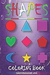 Shapes: Coloring Book Paperback