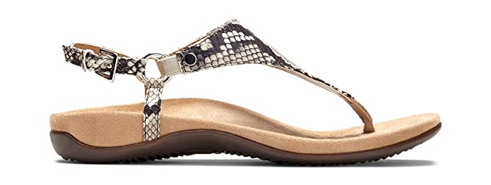 9ee3c738333f Amazon.com  Vionic Women s Rest Kirra Backstrap Sandal - Ladies Sandals  with Concealed Orthotic Arch Support  Shoes