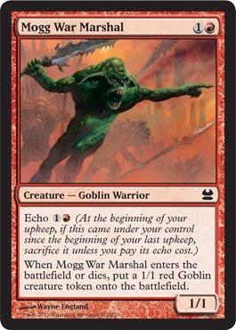 Magic: the Gathering - Mogg War Marshal (122) - Modern Masters