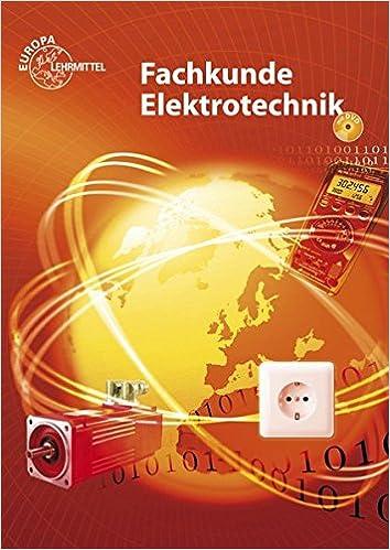 Elektrotechnik fachkunde bachelor maschinenbau kaufen