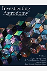 Investigating Astronomy: A Conceptual View of the Universe Paperback