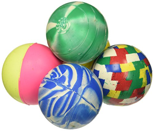 1 Dozen 60mm Assorted Colored Super Bouncy Ball by (Large Bouncy Balls)