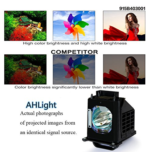AHLIGHT 915B403001-Replacement Lamp with Housing for WD-73C9 WD-60735 WD-73835 by Ahlight (Image #2)