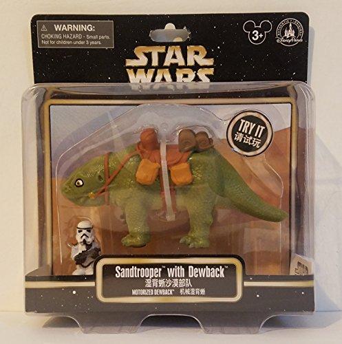 Theme Park Merchandise Disney Parks Star Wars Sandtrooper & Dewback Motorized Figure -