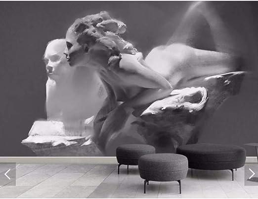 3D mural Nordic abstracto en relieve sexo chica foto wallpaper ...