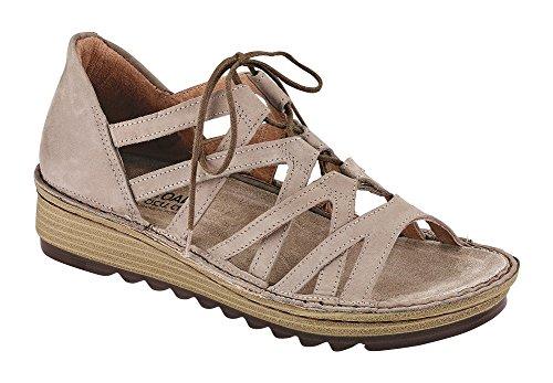 Sandalo Con Zeppa Di Pietra A Fiaba Di Donna Naotta