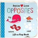 Opposites: Lift-a-Flap Children's Board Book (Babies Love)