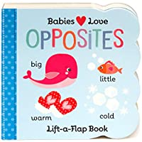 Opposites: Lift-a-Flap Children's Board Book (Babies Love)