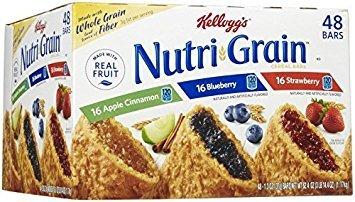 Nutri-Grain-Kellogg's Cereal Bars Variety Pack, 1.3 oz, 48-Count by Kellogg's