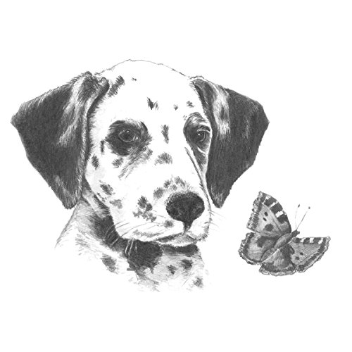 Royal Brush Sketching Made Easy Dalmatian Pup Mini Kit, 5