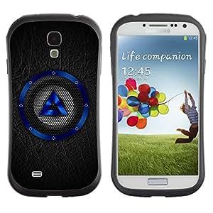 Suave TPU GEL Carcasa Funda Silicona Blando Estuche Caso de protección (para) Samsung Galaxy S4 I9500 / CECELL Phone case / / Blue Speaker /