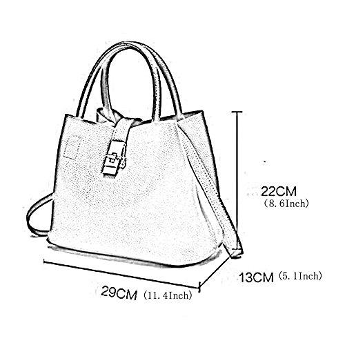 Sac De Des Main Des La ZLL Femmes De Portable Sauvage De De Mode Women's Boucle Sac D'ordinateur Black Messager Sac bag D'image à Femmes Sac Microfibre qqwZ8FU
