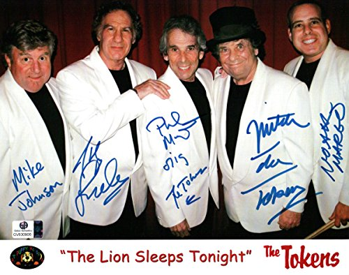 Philip Margo/Mitch Margo/J Leslie +2 Signed Autographed 8X10 Photo Tokens - Online Tokens Gift