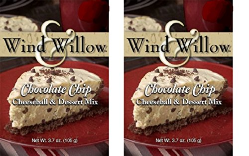 Wind & Willow Chocolate Chip Cheeseball and Dessert Mix (2 (Chocolate Chip Cheeseball)