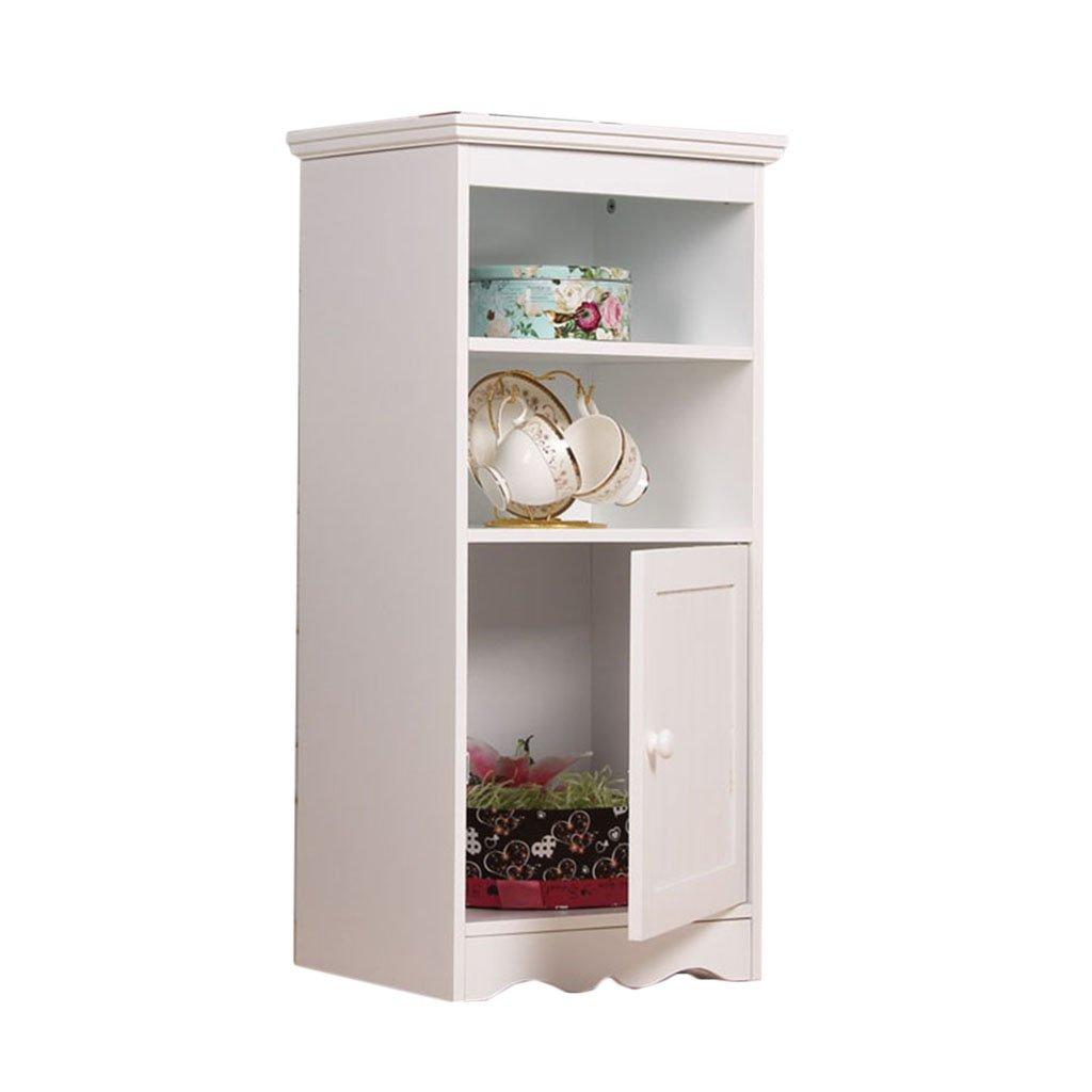 White 403081.5cm Floor Cabinets Cabinets Bedroom Bedside Table Balcony Cabinet, Bathroom Storage Cabinet Toilet Side Cabinet,Living Room Corner Cabinet Storage Cabinet (color   White, Size   40  30  81.5cm)