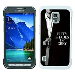 Beautiful And Unique Designed Case For Samsung Galaxy S5 Active With Fifty Shades Of Grey Tie white Phone Case