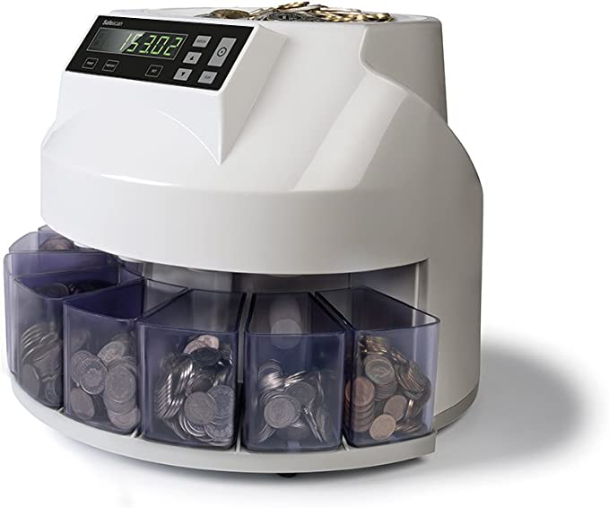 Safescan 1250 CHF Automatic Coin Counter & Sorter for CHF Count Assorted 220 CHF Coins Per Minute Grey: Amazon.de: Bürobedarf & Schreibwaren