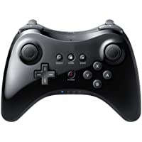 Classic Wireless Game Controller Gamepad Joypad Remote for Nintendo Wii U Pro Black