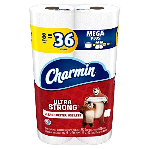 Charmin Ultra Strong  330 2- Ply Sheets Per Roll